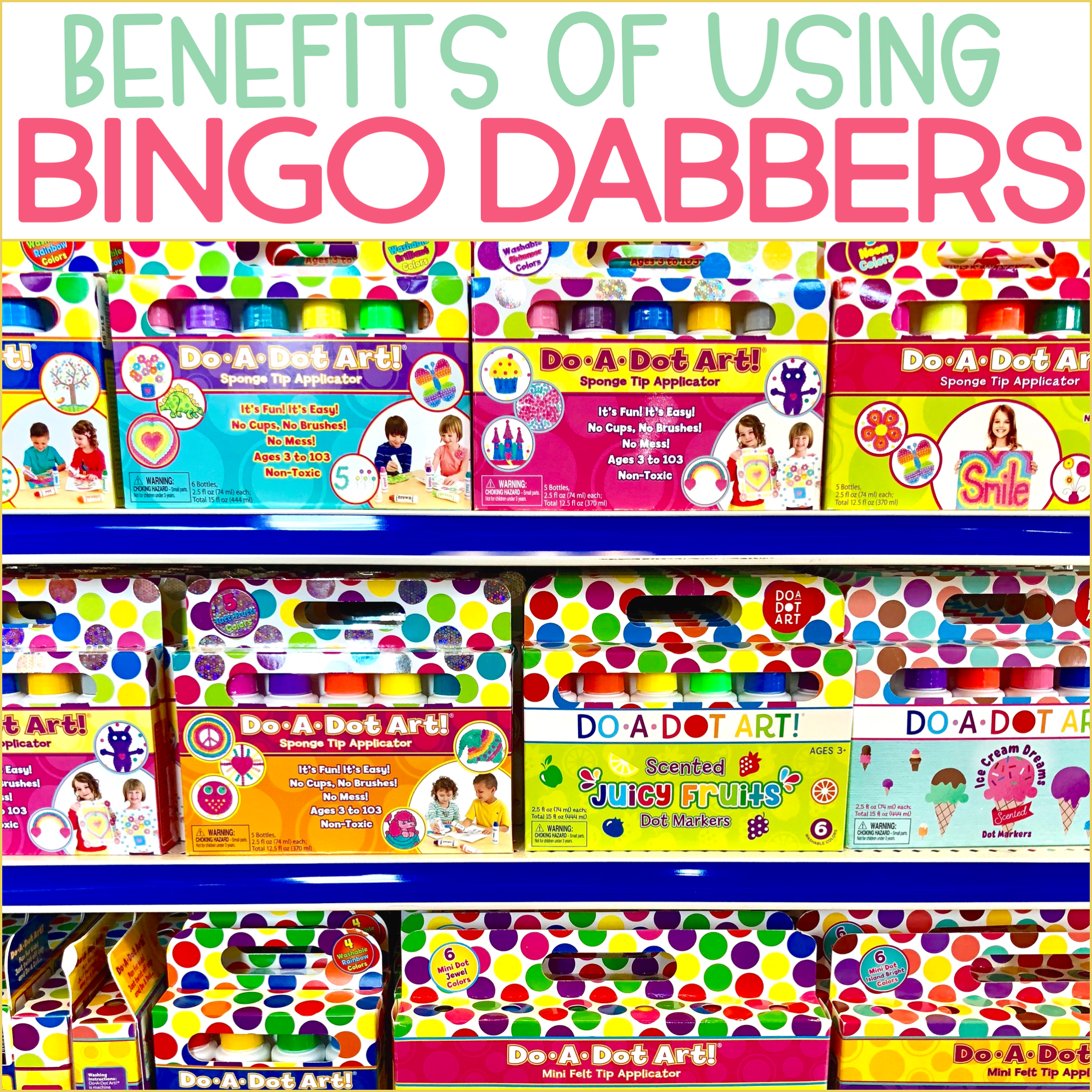 Benefits of Using Bingo Dabbers in the Classroom