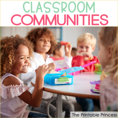 Building a Classroom Community in Kindergarten