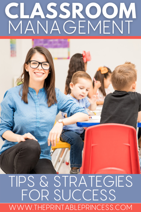 Classroom management tips and strategies