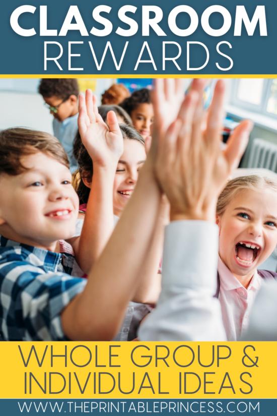 Classroom Reward Ideas That Students Will Love