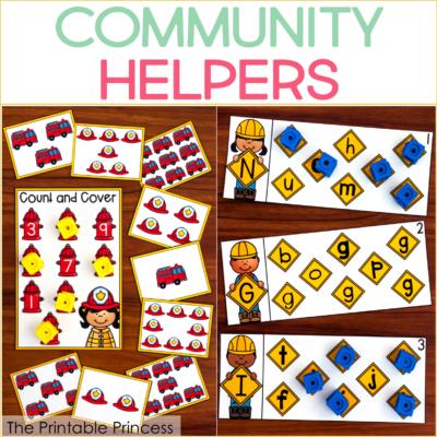 Community Helpers: Activities for Kindergarten