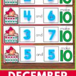 Kindergarten Morning Tubs for December