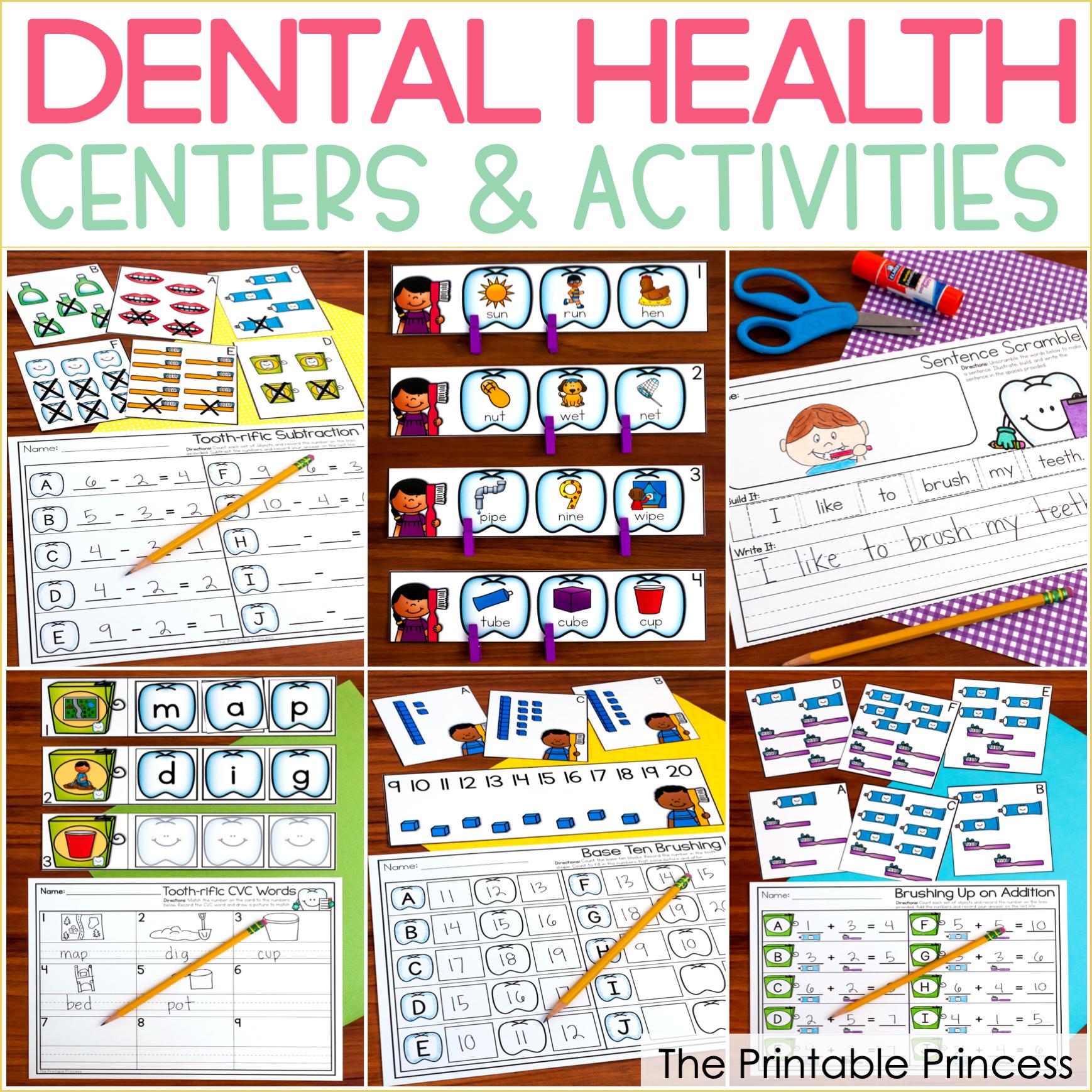 Dental Health Centers for Kindergarten