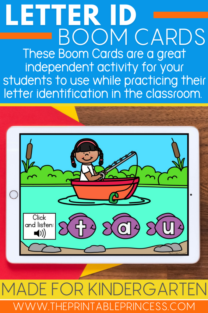 Letter Identification Boom Cards