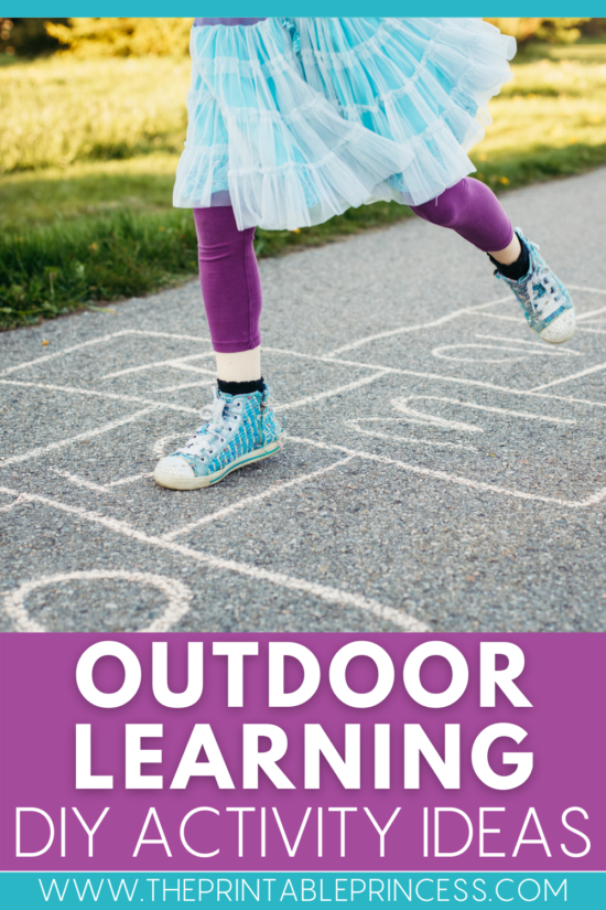 Easy Outdoor Learning Ideas