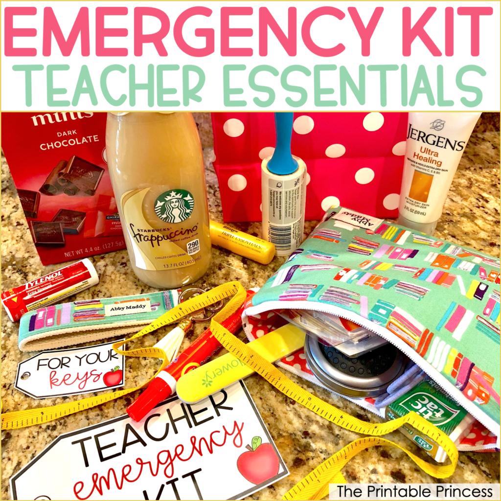 Teacher Emergency Kit Essentials