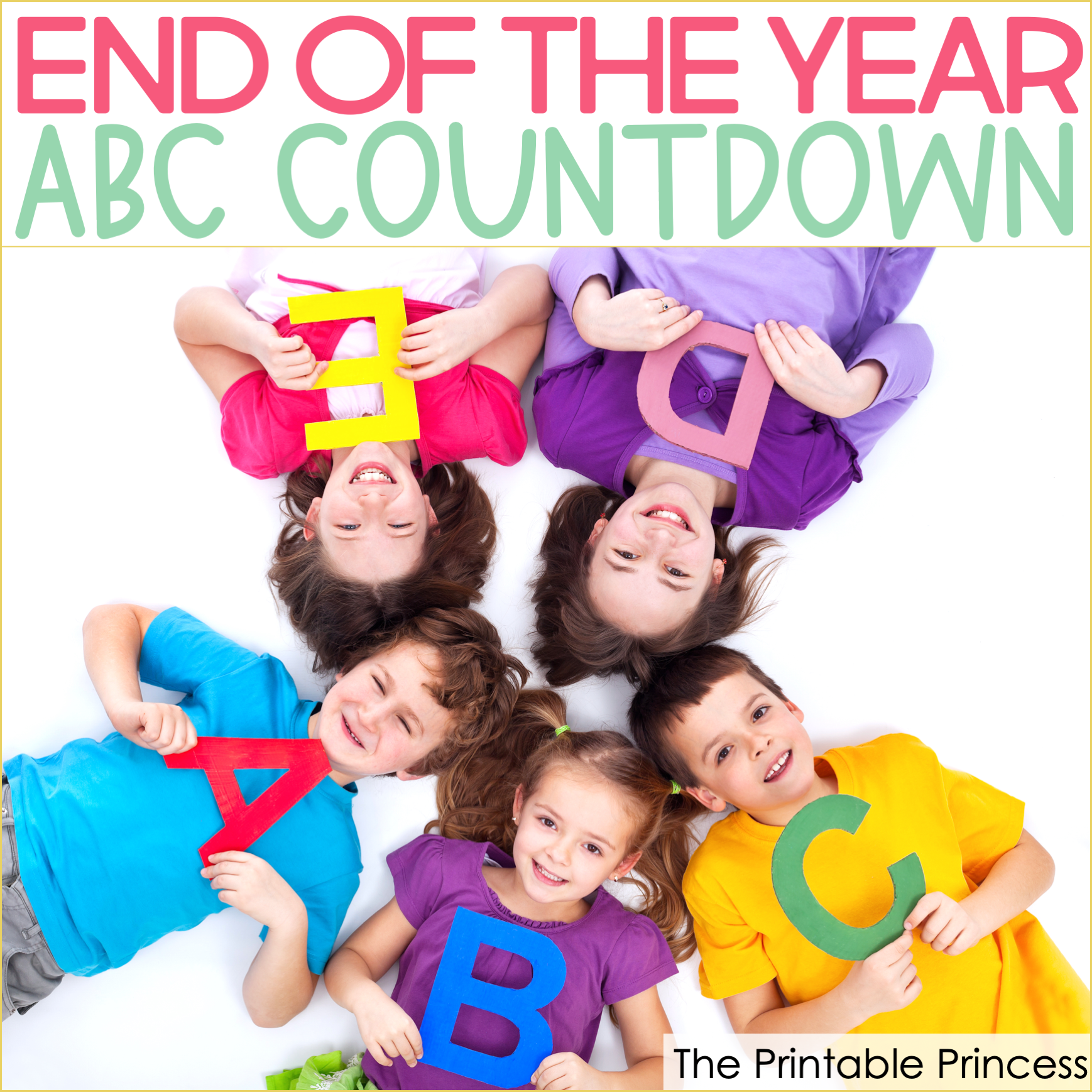 End of the Year ABC Countdown Ideas