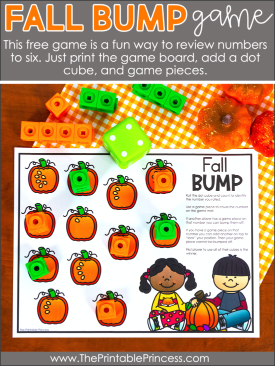 fall learning activities for kindergarten