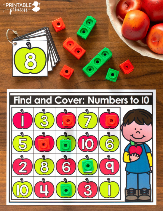These Fall tubs for Kindergarten are full of hands-on math and literacy activities to help get your students ready for a day of learning. There is 22 hands-on Kindergarten appropriate activities to make your classroom mornings easier. Skills include counting, subitizing, ten frames, number recognition, letter recognition, beginning sounds, fine motors, and more. Themes include pumpkins, sunflowers, scarecrows, apples and leaves - all perfect for fall in Kindergarten!