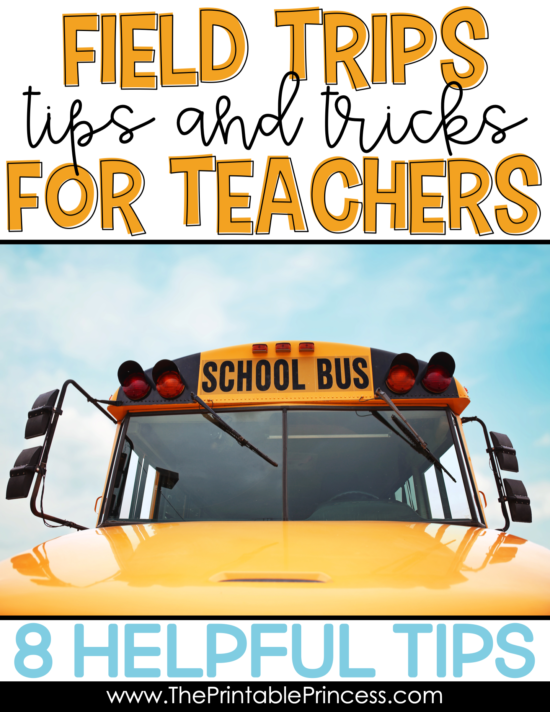 Field trips are never stress free. But planning field trips for your Prek, Kindergarten, or First Grade classroom can be less stressful and more organized with a few basic tips and strategies. It's important that you are prepared, your chaperones are prepared, and that you've established rules and routines with your students before you leave. Click through to read more tips and tricks before you leave on your next field trip! You'll also find some words of advice for during the trip and when you get back!