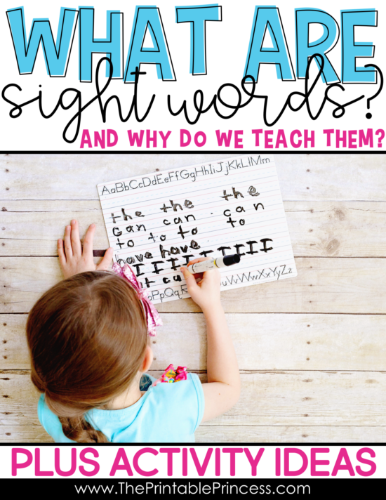 What exactly are sight words and why is it important to teach them? More importantly HOW do you teach sight words? In this post you'll find easy to implement and practical ideas to teach sight words to your Kindergarten and 1st grade students. Just grab some magazines, highlighters, magnetic letters, and even their fingers for a little sky writing! Click through to read about 10 easy and fun sight word activities that your students will love!