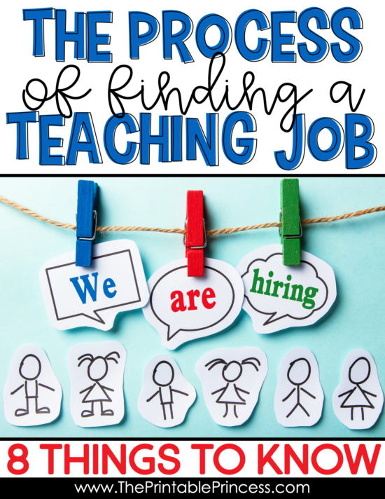 Finding a teaching job can feel like a huge undertaking. Where do you start looking? How do you make your application stand out? While there is no cookie-cutter way to find a teaching position, there are some basic tips and tricks that can help you along the way. Click through to read 8 things you need to know before you begin the process of finding a teaching job.