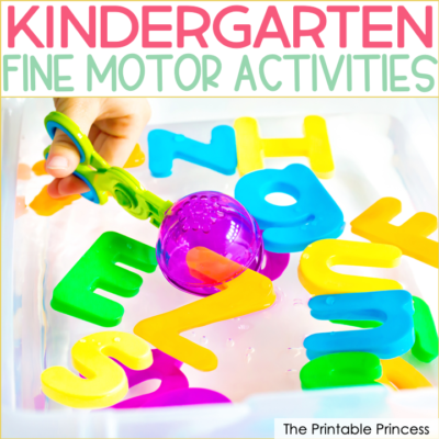 12 Fine Motor Activities for Kindergarten