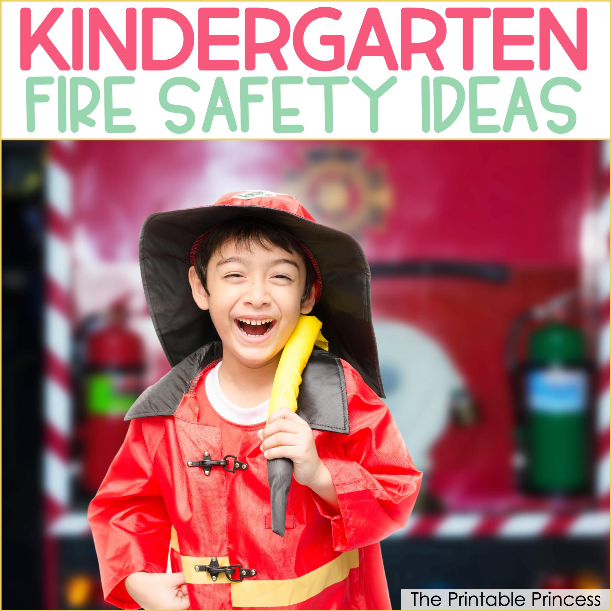 Fire Safety Activities for Kindergarten