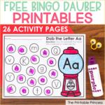 Free Bingo Dauber Printables