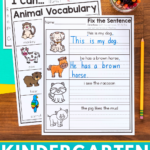 Free Kindergarten Writing Centers