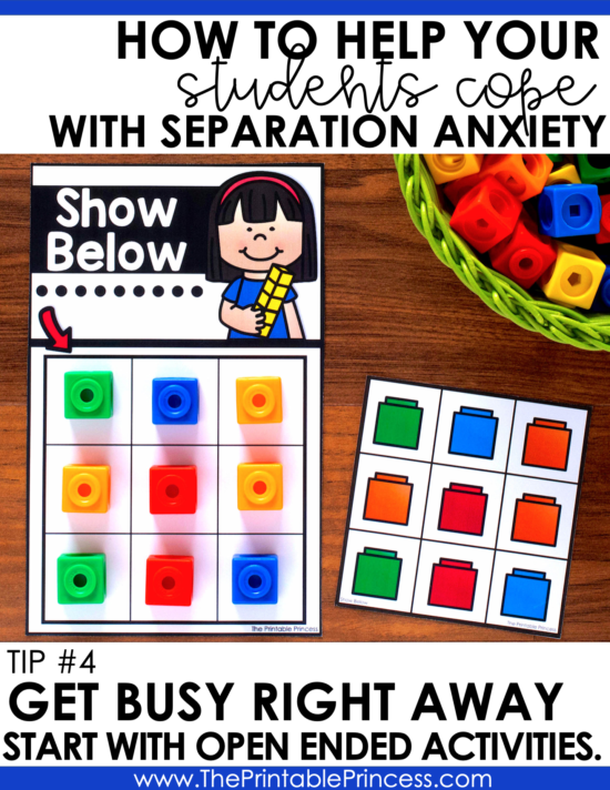 If you're a PreK or Kindergarten teacher you know that the first day of school can be a scary time for students. Some students are eager to get into their new classroom, while other students are crying on the first day of school. Here are eight practical tips and strategies you can use as you help students with separation anxiety.
