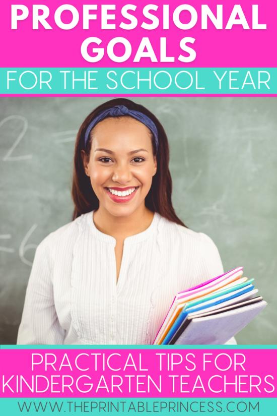 Goal Setting Ideas for Teachers for the New School Year