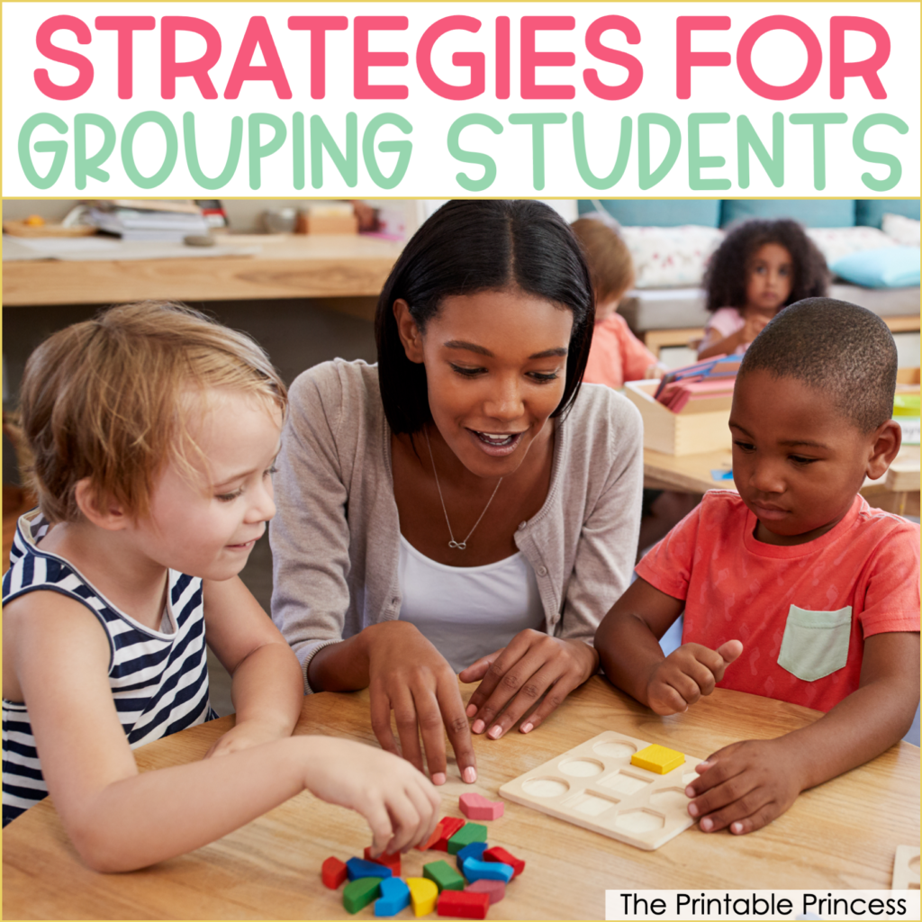 How to Effectively Group Students for Small Group Instruction