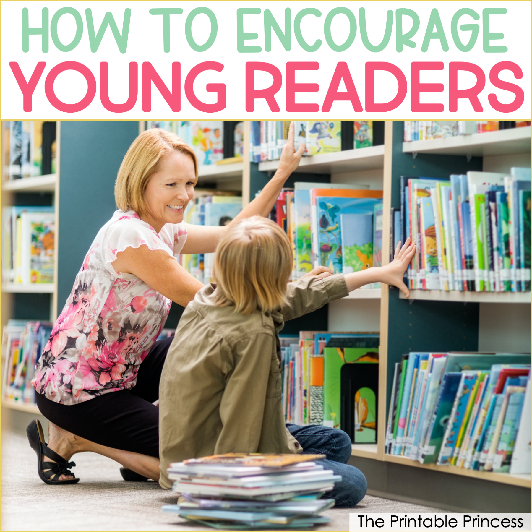 How to Encourage Reluctant Readers