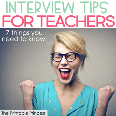 Interview Tips for Teachers