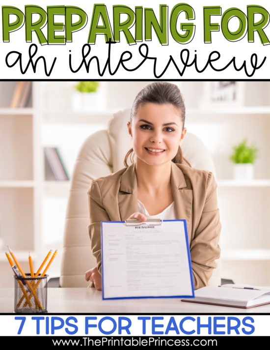 If you're on the hunt for a teaching job, this post will help you prepare and feel confident about your interview . You'll find tips on what to wear, how to prepare mentally, as well as what to do during the interview, and more. Whether this is your first teaching job or you're transitioning, you'll find seven ideas and interview tips for teachers to help you ace your job interview.