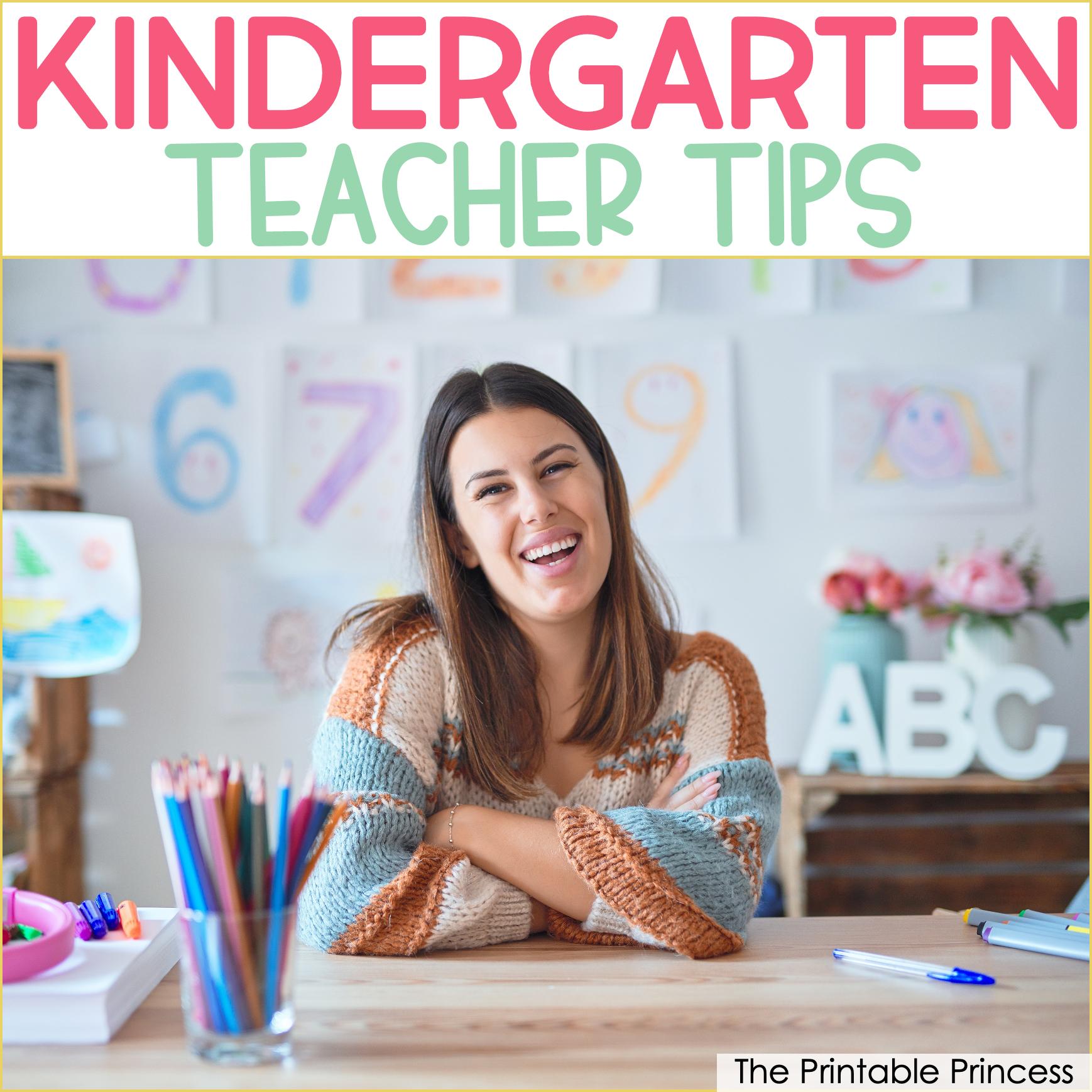 12 Tips for New Kindergarten Teachers