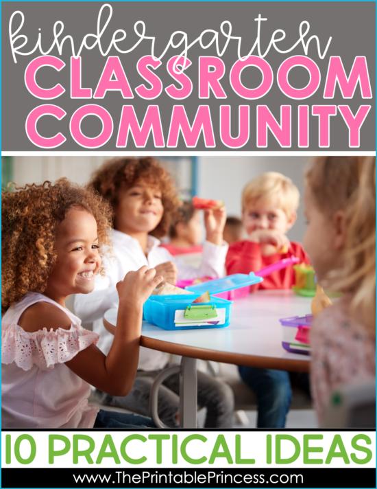 Building a Classroom Community in Kindergarten