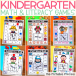 Kindergarten Math and Literacy Games