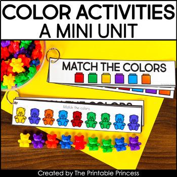Let's Learn Colors | A Colors Activities Mini Unit