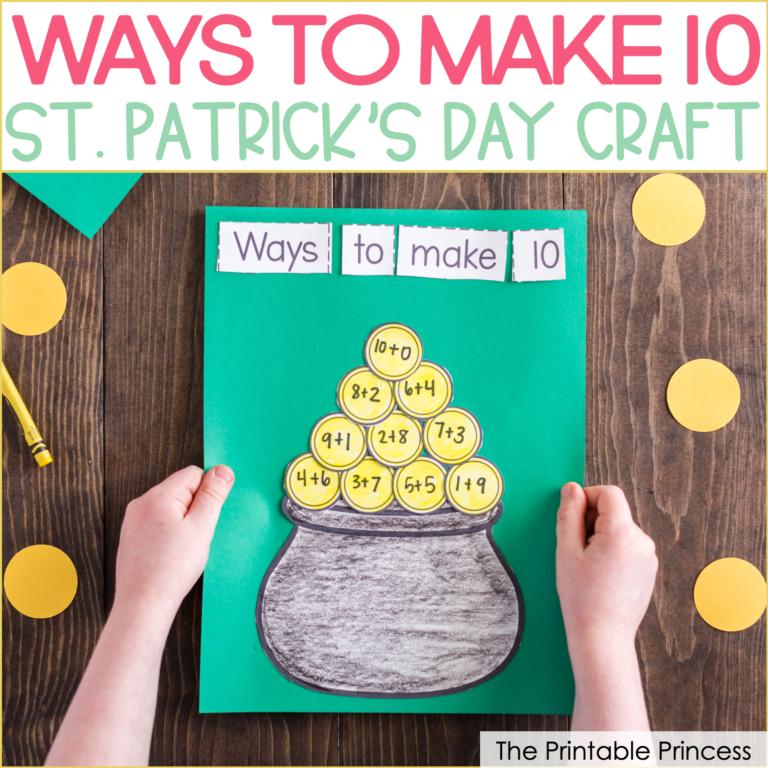 Ways to Make 10 No Prep St. Patrick's Day Craft