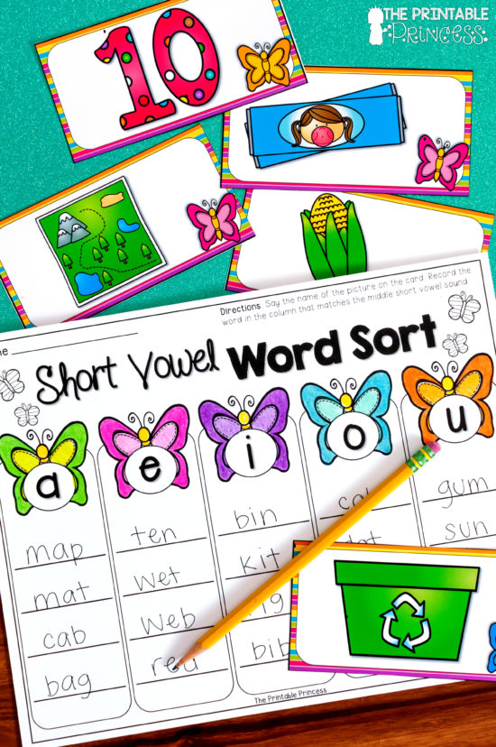 If you need some new ideas for spring activities for Kindergarten, you'll find a TON right here! This post has a super fun Rainbow Match freebie - plus math and literacy ideas that were made just for Kindergarten will work perfectly in your centers! Click through to see these spring centers in action. You'll receive teen numbers, addition and subtraction, base ten, counting, sight words, CVC words, beginning blends, simple sentences, and MORE! The practice pages are great for morning work, small group work, sub tubs, remediation, or homework. Click through for all the details for your students!