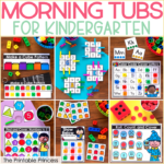 Kindergarten Morning Tubs