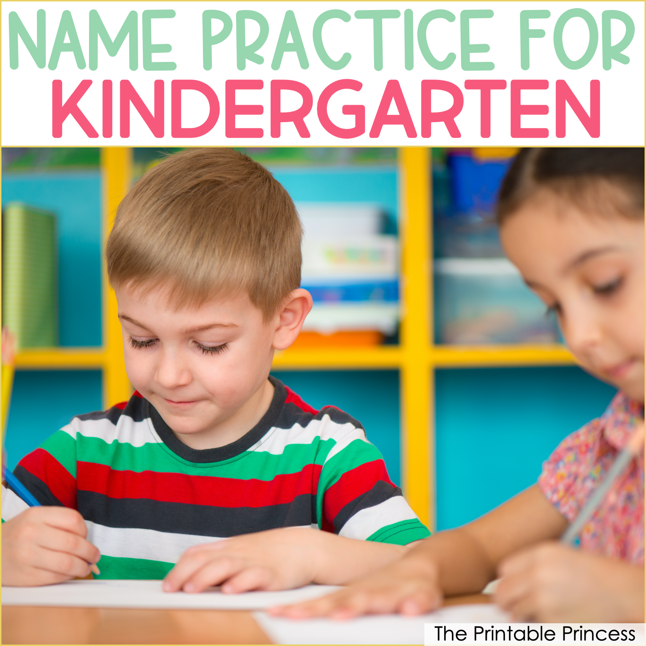Name Writing Activities for Kindergarten
