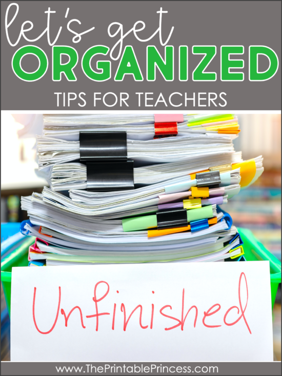 organizational tips for teachers