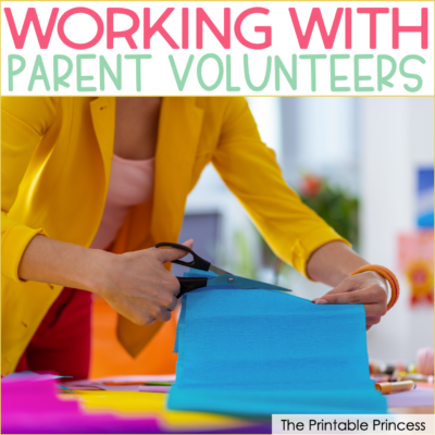 Using Parent Volunteers in Your Classroom