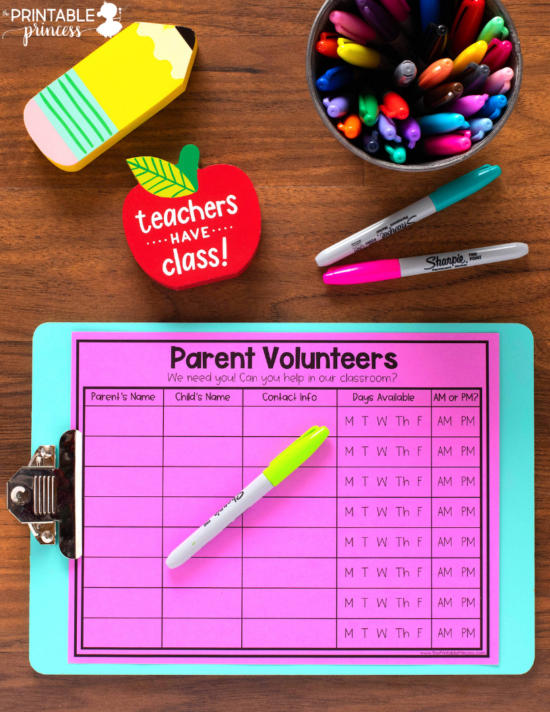 There are so many benefits of having parent volunteers in the classroom, especially the kindergarten classroom. This blog post contains editable FREE classroom volunteer forms that you can use to recruit parent volunteers. You'll also find tips for setting up a parent volunteer system in your classroom, along with several task ideas that are perfect for parents wanting to volunteer in your classroom.