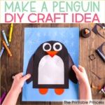 Penguin Craft for Kindergarten