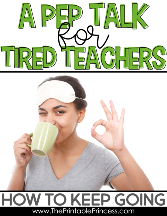Teacher are real-life super heroes. But even the best super heroes can get tired, feel overworked, and need a break. If this feels like you, this blog post was written for you. Find encouraging words and practical tips for tired teachers. These teacher tips will help encourage you and keep you going so that you can refresh and finish the year strong.