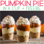 No-Bake Pumpkin Pie in a Cup