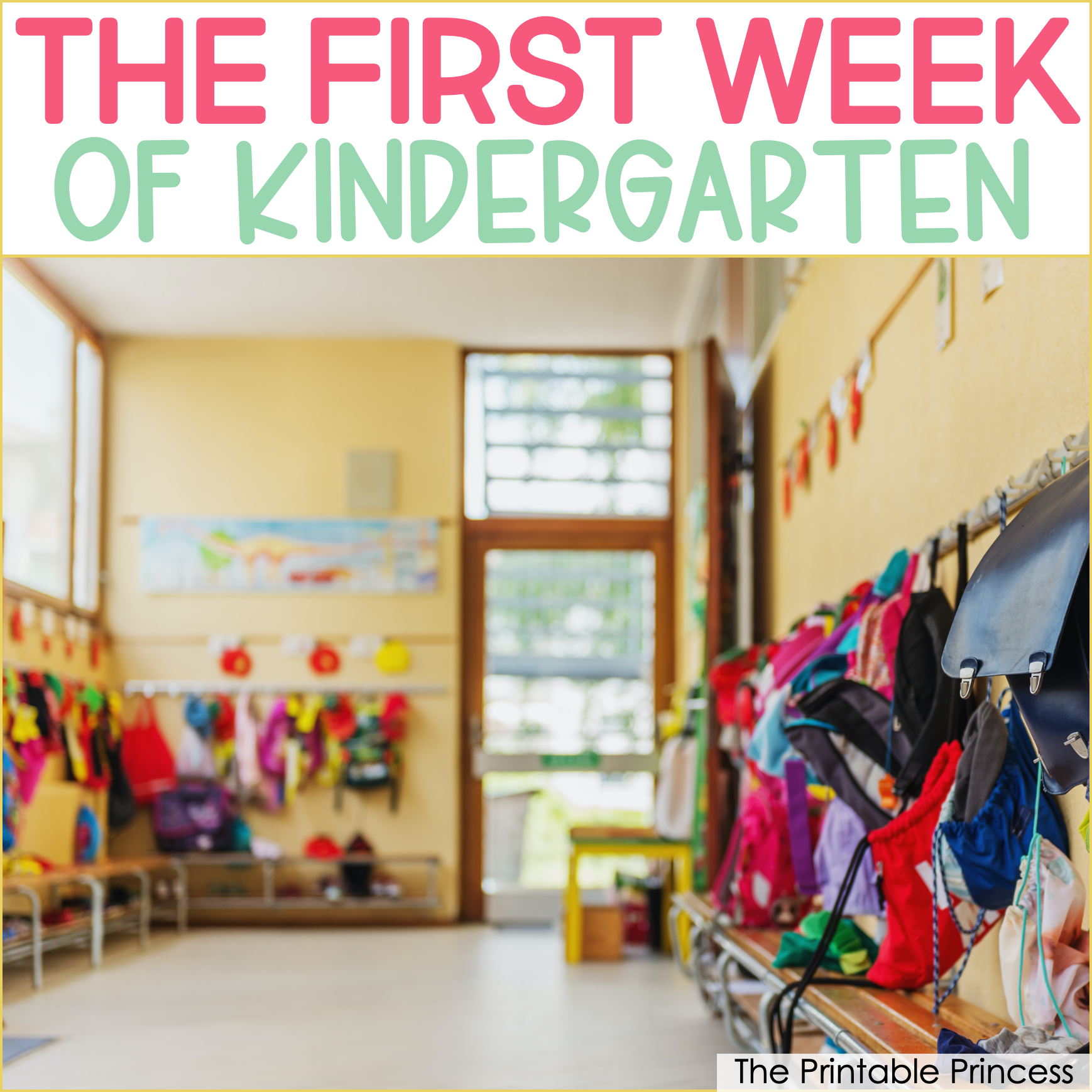 Realistic Expectations for the First Week of Kindergarten