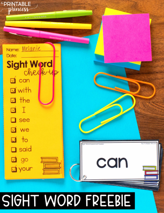 Fun sight word activities that are easy to prep and engaging for students - and are WAY more fun than just memorizing from flashcards! These hands-on sight word activities are perfect for PreK, Kindergarten, and First Grade students. Plus an EDITABLE sight word freebie that will help you monitor and track student progress.