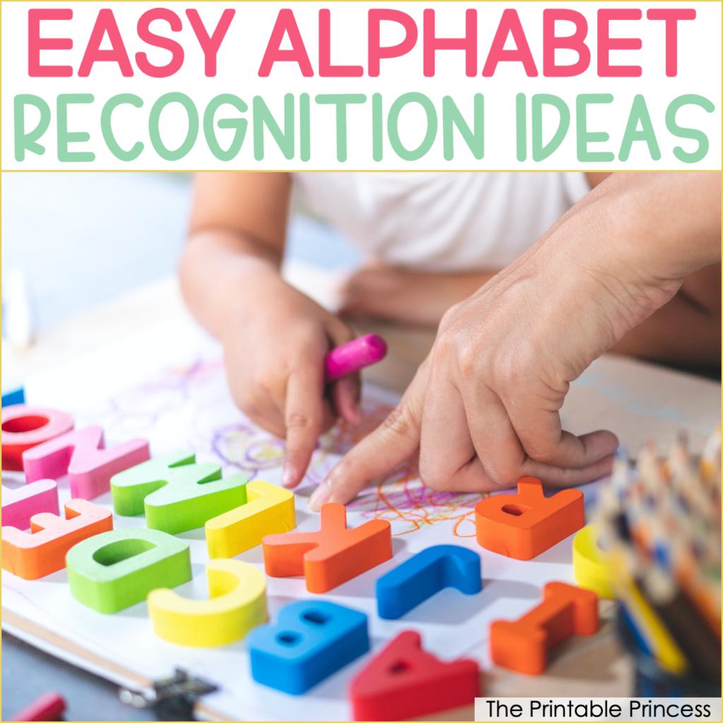 11 Easy Letter Recognition Centers for Kindergarten