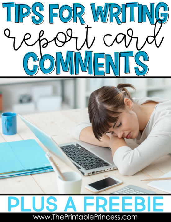 Writing unique and insightful report card comments for every student can feel overwhelming. But it doesn't have to be. We all want our comments to be a meaningful and accurate summary of your students progress. With a little pre-planning you can set yourself up for record-card-comment-success. Here's some tips that every Kindergarten, First Grade, and primary teacher should read.