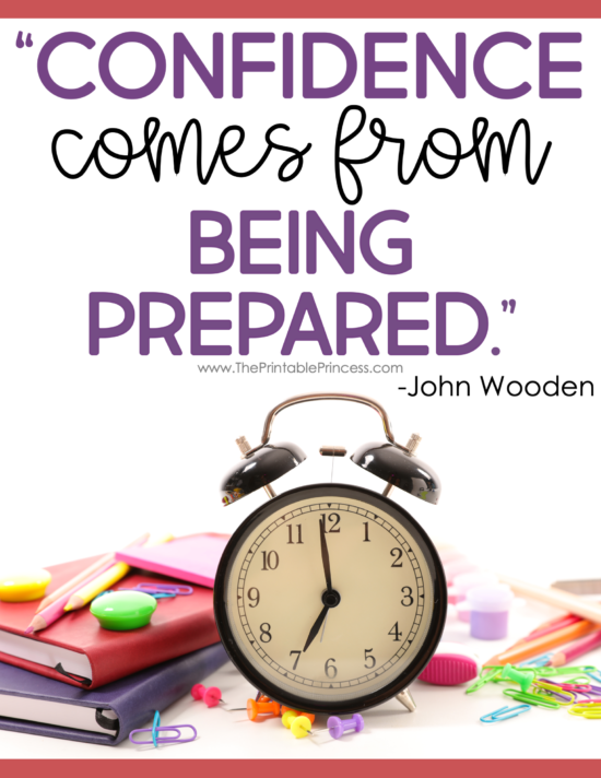 Balancing time in the classroom with time to prepare FOR the classroom is not as easy as it looks. It seems like there's so much to do and so much to plan for. Dividing your time and having a solid plan in place is the key to making the most of your teacher prep time. Click through for a step-by-step guide in making the most of your prep time. You can also download a FREE editable weekly schedule to keep you on track.