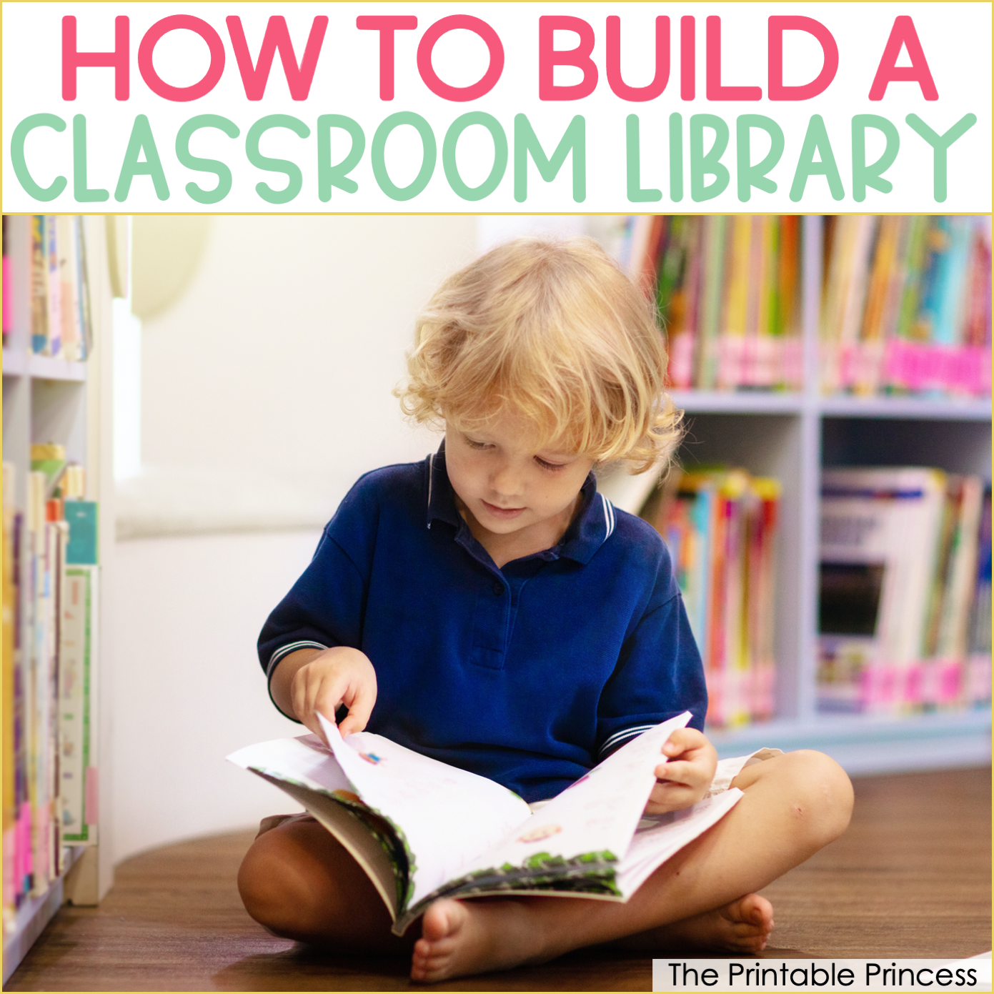 9 Ways to Build Your Classroom Library