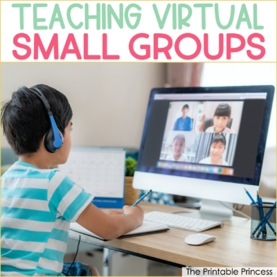 Small Group Ideas for Kindergarten Virtual Learning