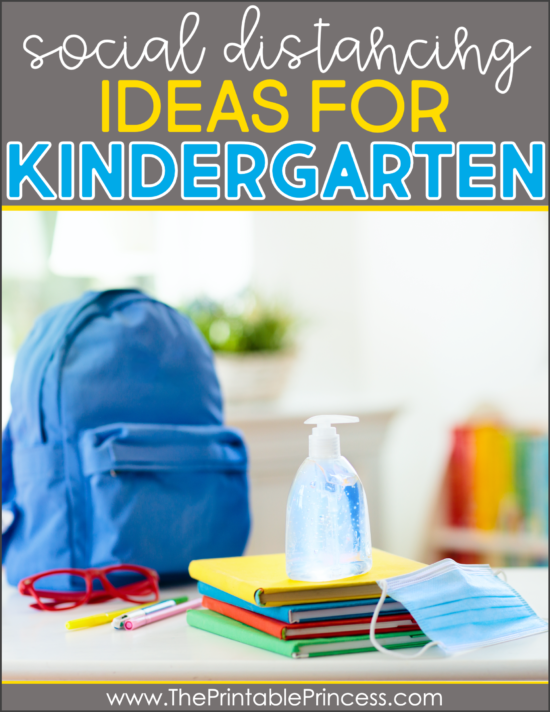 social distancing in kindergarten