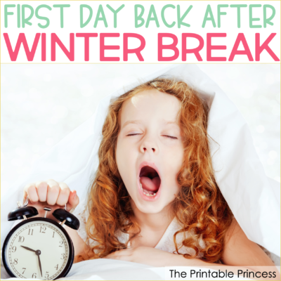 The first day back to school after winter break can be tough, especially for primary teachers. Here are six tips to help you (and your students!) make the transition a smooth one. You'll find ideas on what to do, what not to do, key elements to add to your day, and a few suggested activities for making the first day back after winter break a successful one! With a little planning you can set the stage for a productive and fun second half of the school year.