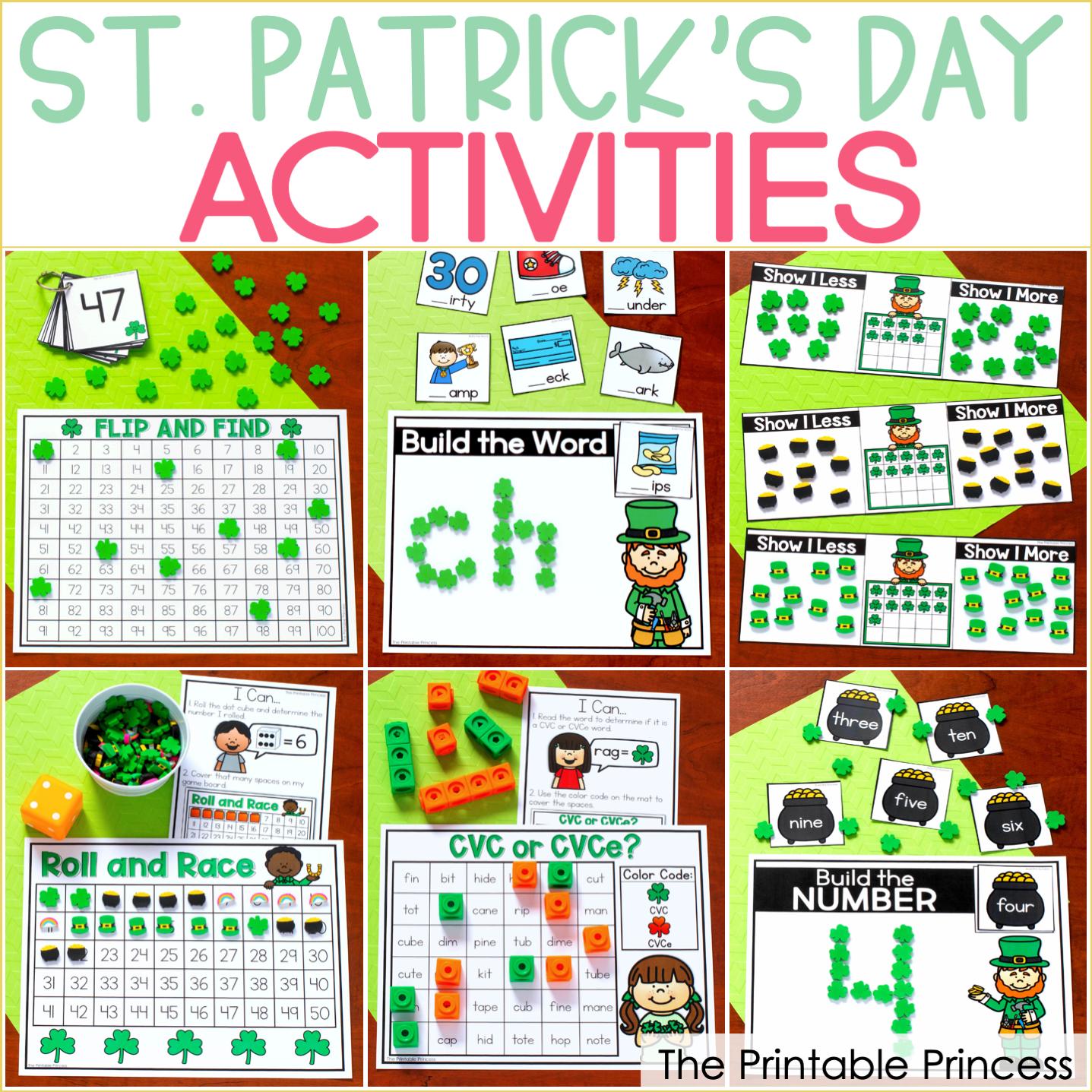 Hands-On St. Patrick's Day Activities for Kindergarten